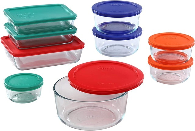 Pyrex Glass Food Storage Containers 1