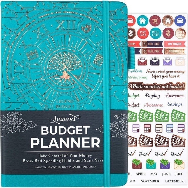 Legend Planner Deluxe Financial Planner Organizer and Budget Book 1