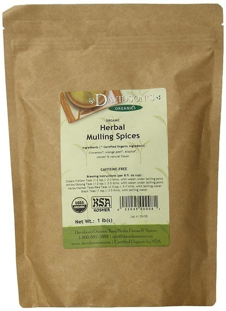 Davidson's Herbal Mulling Spices 1