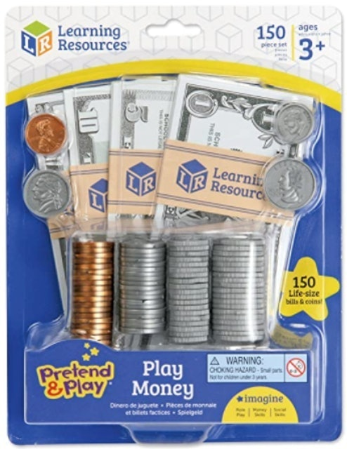 Learning Resources  Pretend and Play: Play Money 1