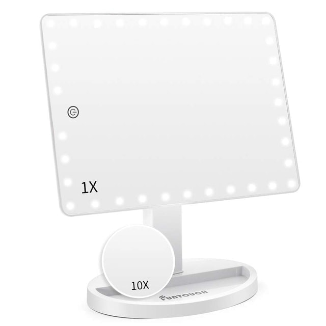 Funtouch Large Lighted Vanity Makeup Mirror 1