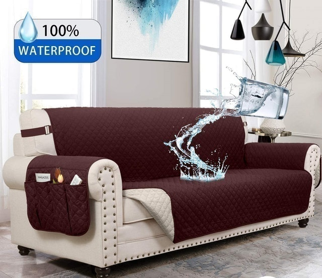 Moymo Reversible Couch Protector 1