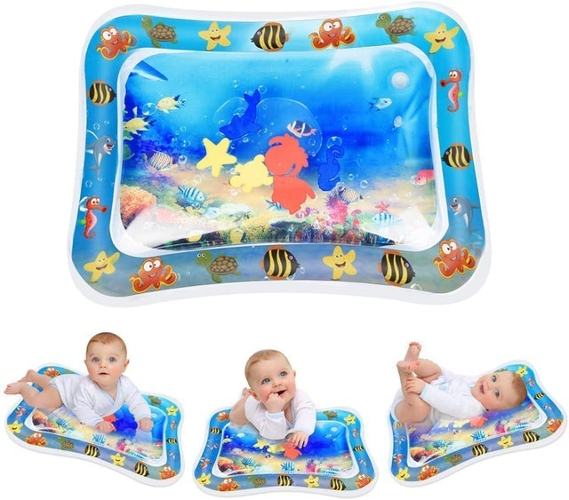 Keten Inflatable Tummy Time Water Mat 1