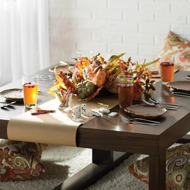 Fall Decorations Loon Peak  Blanco Point Mixed Centerpiece 1
