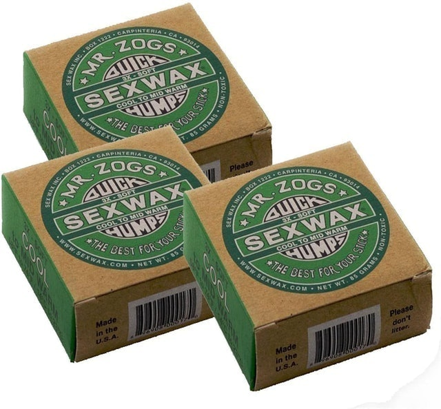 Sex Wax Quick Humps - Cool to Mid Warm 1