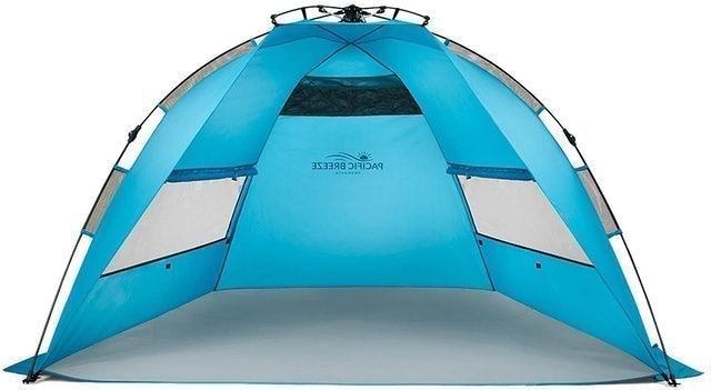 Pacific Breeze Products Easy Setup Beach Tent 1