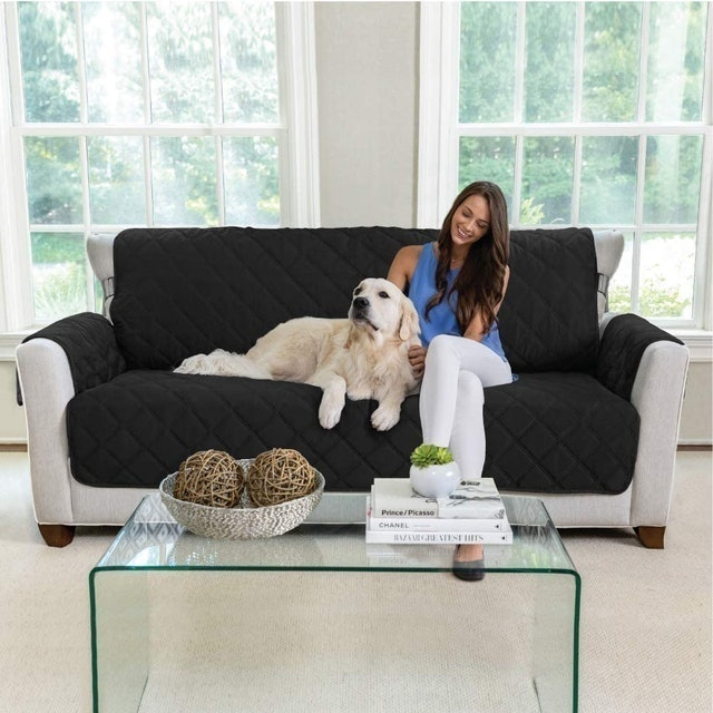Mighty Monkey Premium Reversible Large Sofa Protector 1