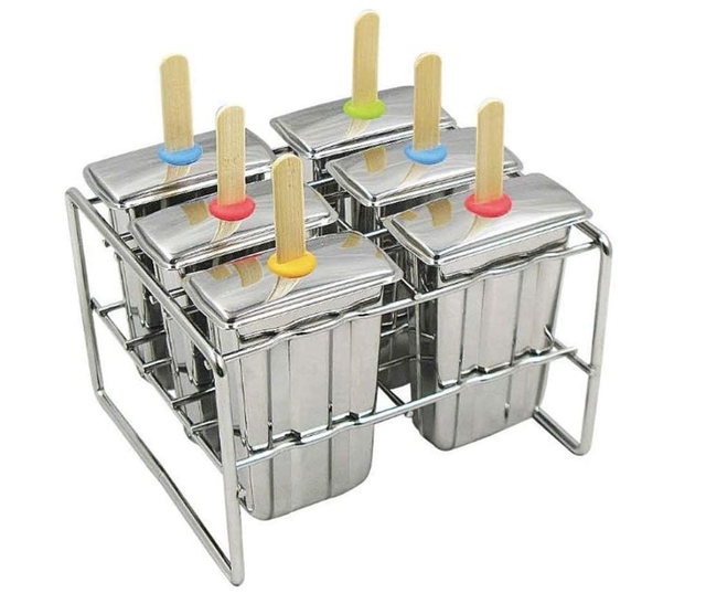 Onyx Stainless Steel Popsicle Molds 1
