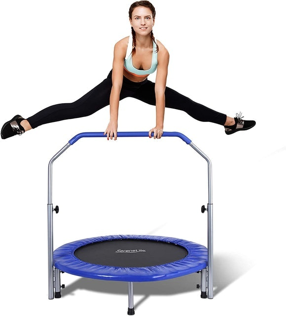 SereneLife Portable & Foldable Trampoline 1
