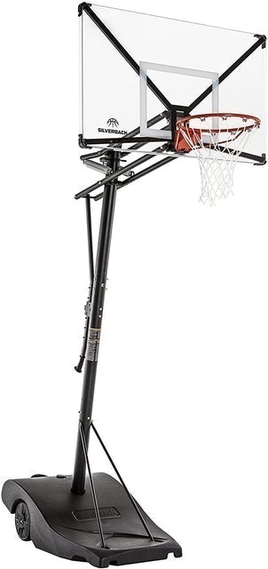 Silverback Portable Height-Adjustable Basketball Hoop 1