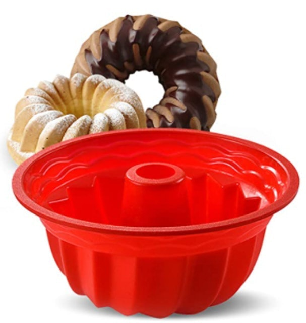 Aokinle Fluted Round Cake Pan 1