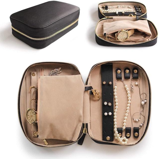 Case Elegance Large Jewelry Travel Organizer 1