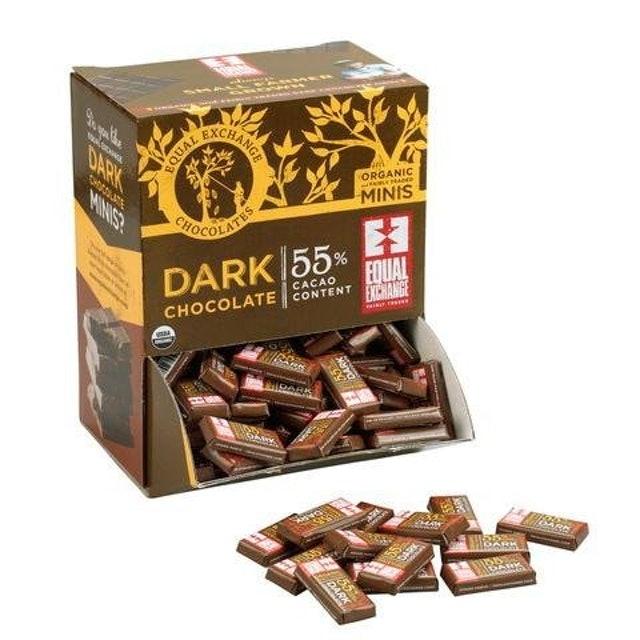 Equal Exchange Dark Chocolate Organic Minis 1