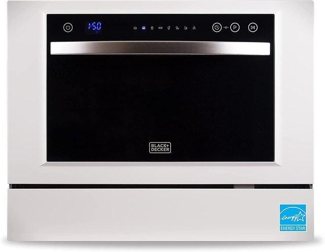 Black+Decker Compact Countertop Dishwasher 1