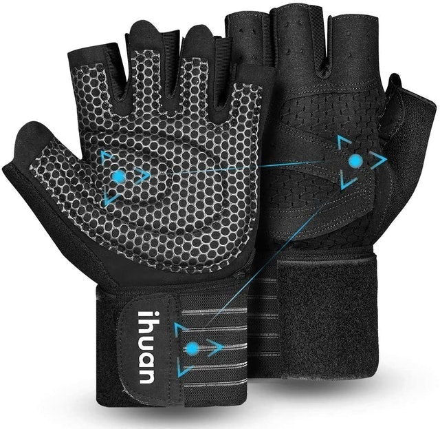 ihuan Ventilated Weight Lifting Gloves 1