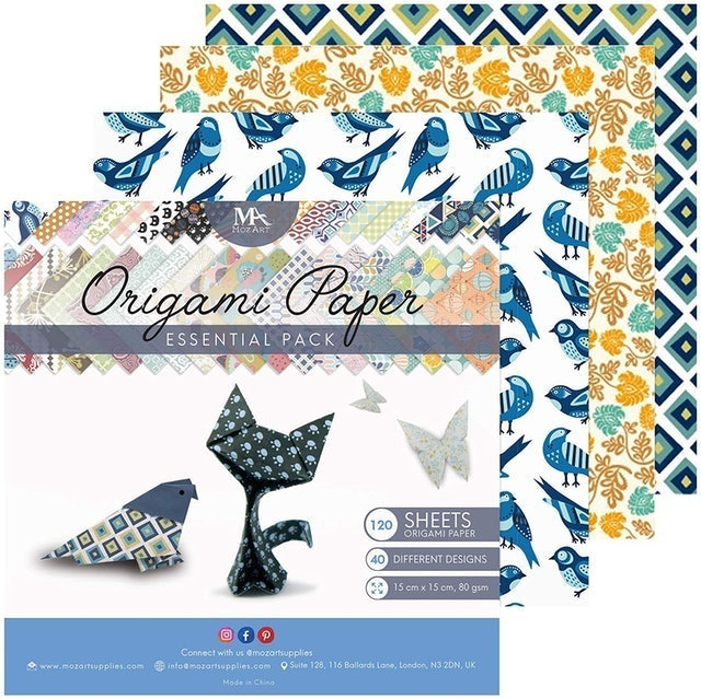 MozArt Supplies Origami Paper Set 1