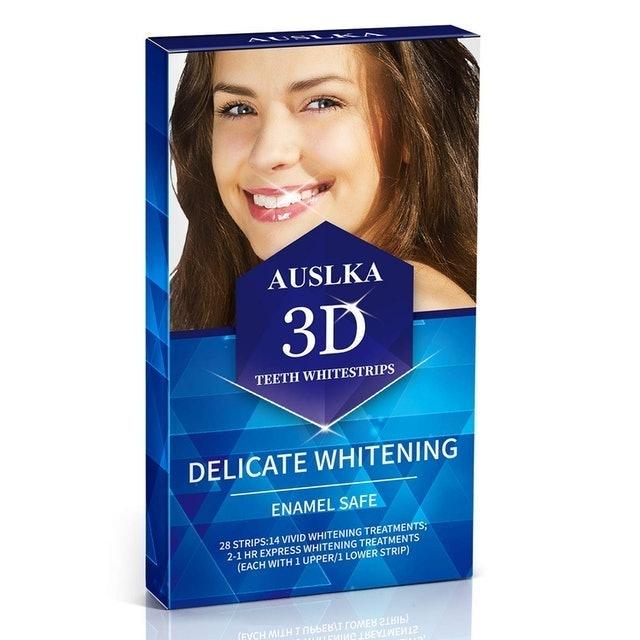 Auslka  3D Teeth Whitestrips Delicate Whitening 1