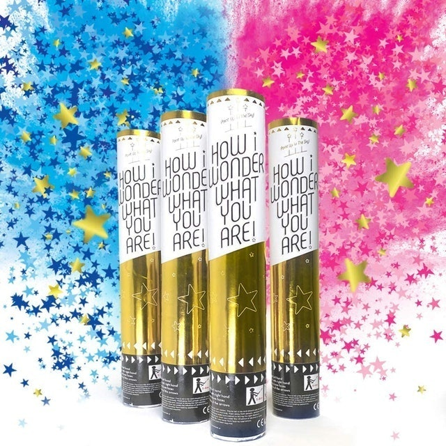 Sweet Baby Company Baby Gender Reveal Confetti Cannon 1