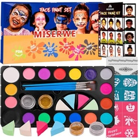 Top 10 Best Face Paint Kits in 2020 (CCBeauty, Mehron, and More) 4