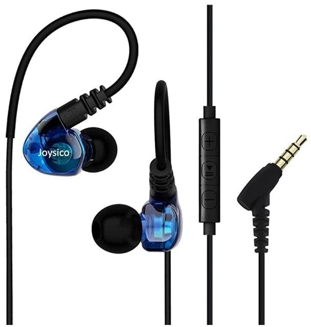 Joysico Sport Headphones Wired Over Ear In-ear Earbuds 1