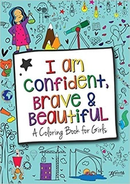Hopscotch Girls I am Confident, Brave & Beautiful 1