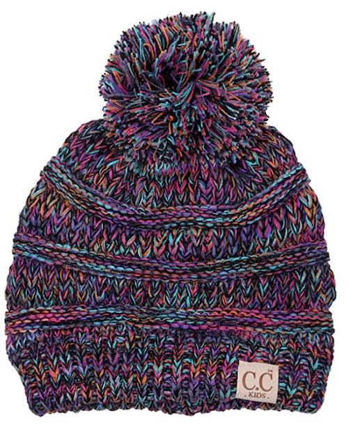 C.C Kids Children's Pom Winter Hat 1