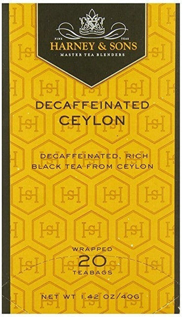 Harney & Sons Decaffeinated Ceylon Black Tea 1