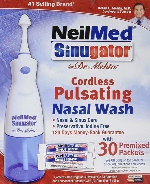 NeilMed Cordless Pulsating Nasal Wash 1