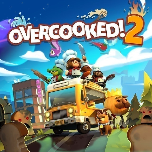Ghost Town Games Team17 Overcooked! 2 1