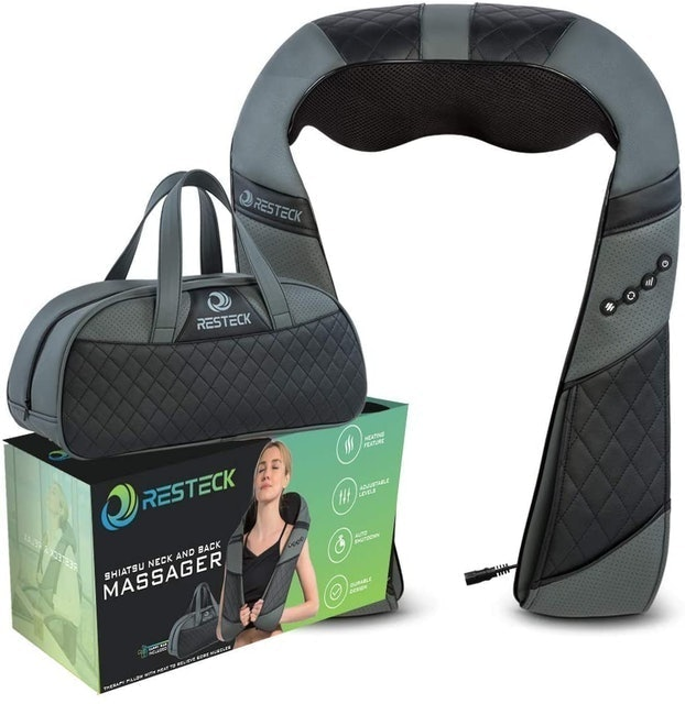 Resteck Massagers for Neck and Back with Heat 1