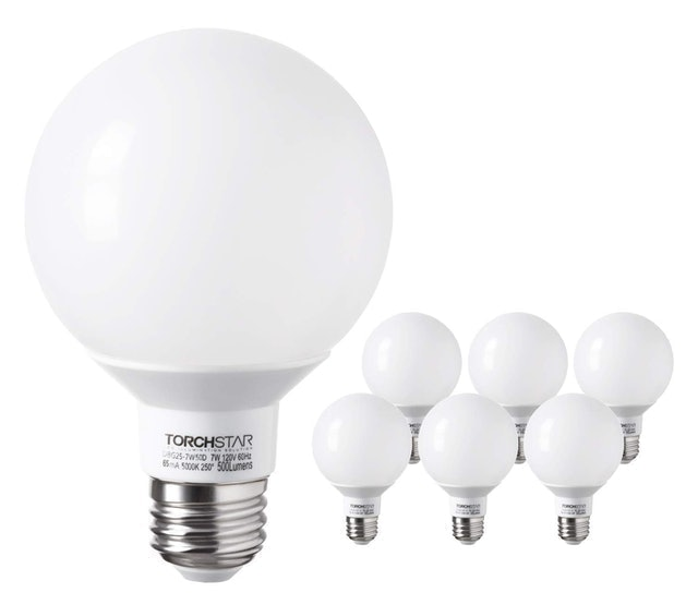 Torchstar Globe LED Dimmable Bulb 1