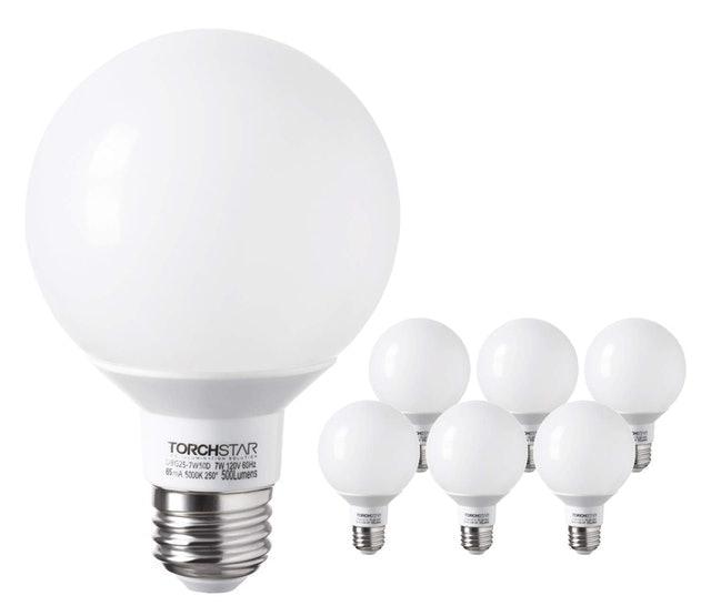 Torchstar Globe LED Dimmable Bulb 1