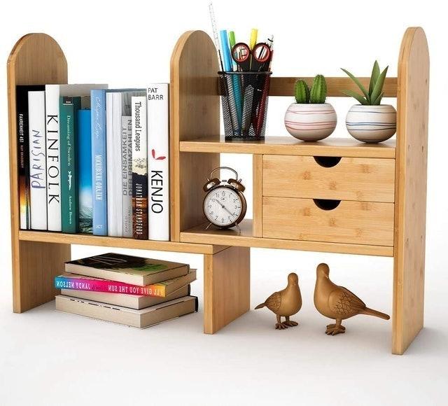 Tribesigns Desktop Bookshelf 1