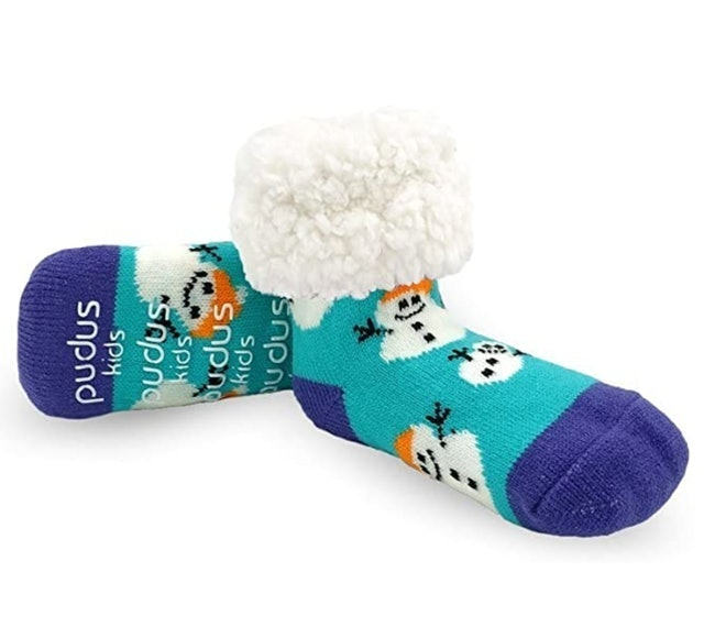 Pudus Cozy Kids & Toddler Slipper Socks 1