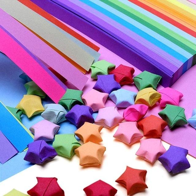 Mluchee Origami Stars Paper 1