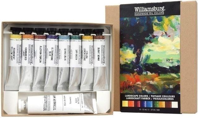Williamsburg Oil Landscape Colors Set 1