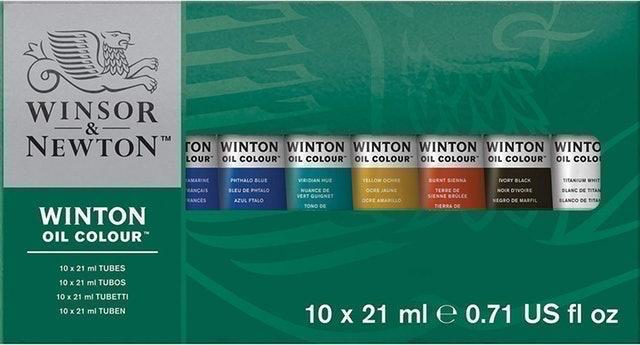 Winsor & Newton Winton Oil Colour Basic Set 1