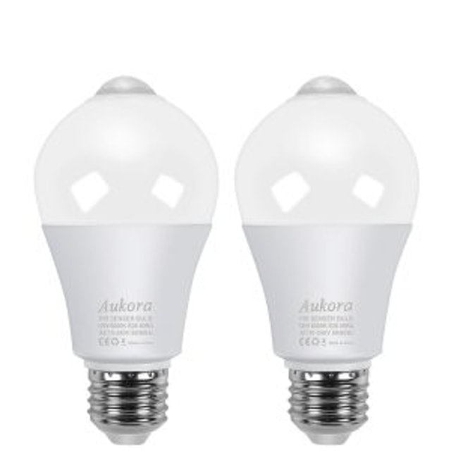 Aukora Motion Sensor Light Bulbs (2 Pack) 1