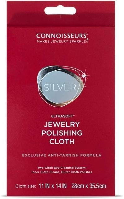 Connoisseurs Ultrasoft Silver Polishing Cloth 1