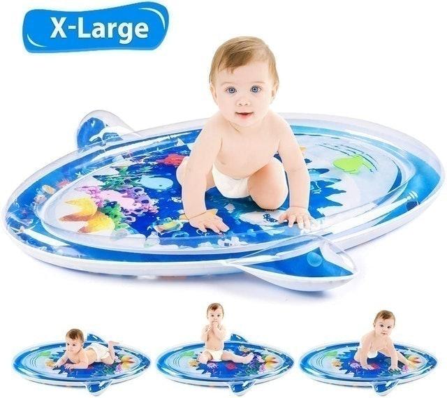 TIKTOK Tummy Time Baby Water Mat 1