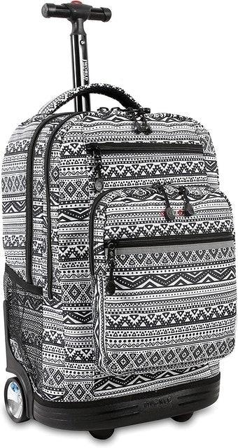 J World New York Sundance Rolling Backpack 1