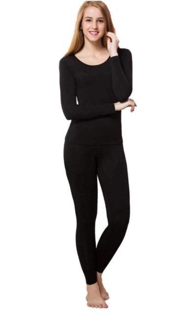 Herobiker Women's Thermal Underwear Set 1