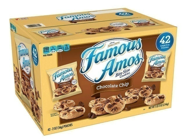 Famous Amos Chocolate Chip Cookies 1