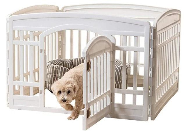 IRIS USA, Inc. Pet Playpen with Door 1