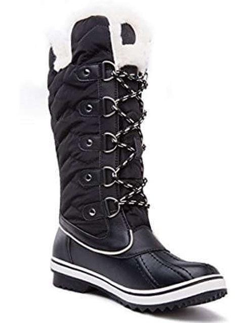 KINGSHOW Women's Globalwin Waterproof Winter Boots 1