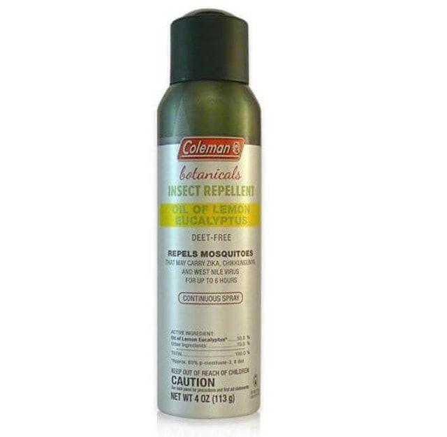 Coleman DEET Free Lemon Eucalyptus Spray 1