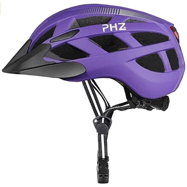 PHZ Rear Light Bicycle Helmet 1