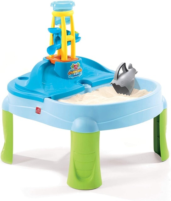 Step2 Splash N Scoop Bay Sand and Water Table 1