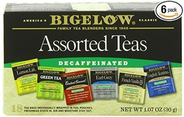 Bigelow Decaffeinated Assorted Teas 1