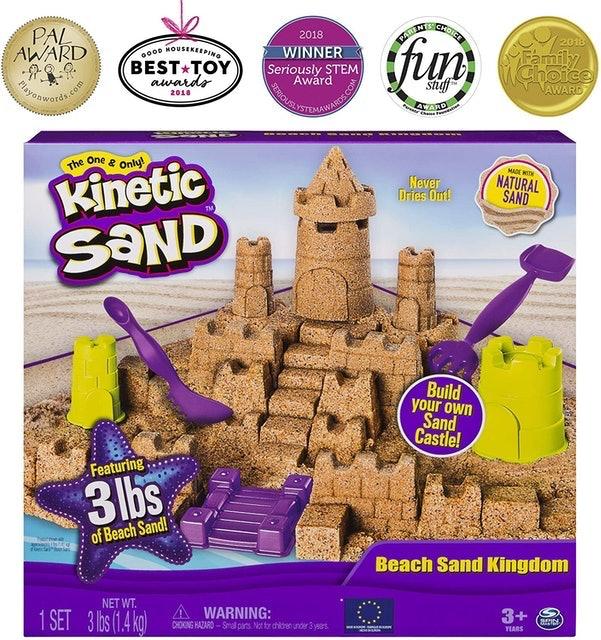 Kinetic Sand Kinetic Sand Beach Sand Kingdom 1